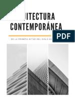 Arquitectura Contemporánea (Primera mitad del siglo XX).pdf