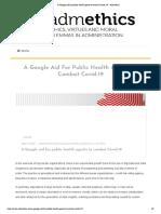 A Google aid for public health agents to combat Covid-19 – Admethics.pdf