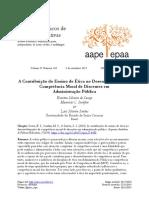 2019 Contribuição do Ensino de Ética no Desenvolvimento da Competência Moral de Discentes em Administração Pública.pdf