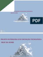 PREZI-PROJETO DE PESQUISA E OU INIVAÇÃO TECNOLÓGICA
