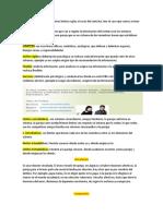 Estructura jerarquía elementos limites reglas a través del contrato