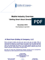 Gridley & Co. Mobile Industry Overview December 2010