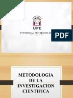 Clase 2 Metodologia