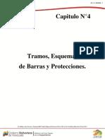 CAPITULO N°4 TRAMOS, ESQUEMAS DE BARRAS Y PROTECCIONES..pdf