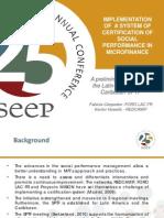 SPTF Latin America Certification
