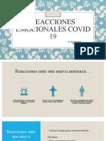 Reacciones Emocionales COVID-19