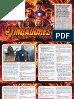 Adaptação - Vingadores - Guerra Infinita