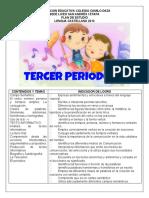 GUIAS TERCER PERIODO DE ESPAÑOL (Reparado)