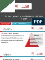 El Valor de la sinergia entre bpm y SOA  CROSSNET S.A.C.