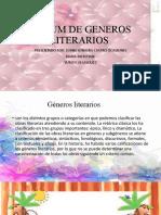 ALBUM DE GENEROS LITERARIOS