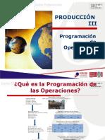 Programación de operaciones 2020