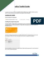 Studica Toolkit Guide
