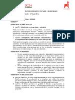 derechos y proyecto