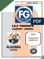 SEMANA 11 - RADICACIÓN ALGEBRAICA - NOVENO.pdf