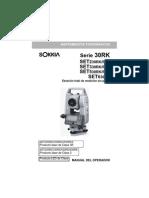 SET 30RK3 - Manual espanol
