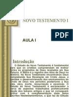 NOVO TESTEMENTO I - AULA I.ppt