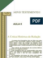 NOVO TESTEMENTO I - AULA II.ppt