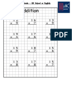 Worksheet 1st Grade - Addition, Match and Draw.pdf