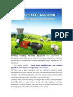 Yongfeng Machinery Catalogue
