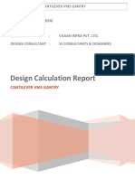 Design report - Cantilever VMS_