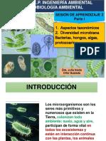 Sesión 2-I diversidad microbiana
