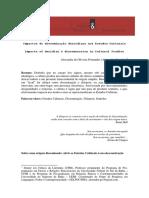 Impactos da disseminação derridiana nos Estudos Culturais