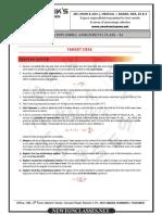 Gravitation Worksheet ( Fully Solved )