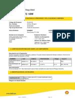 Donax TC 10W  MSDS