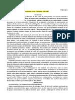 Juan Cáceres. Poder rural y estructura social, Colchagua, 1760-1860. [Capítulos 3, 4 y 7]