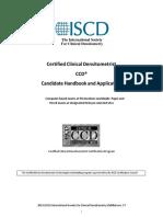 2020 CCD Handbook and Application
