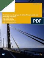 22. Descripciones de Grupo de Ariba Procurement