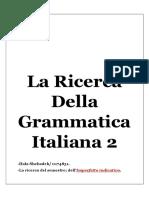 Grammatica Italiana 2 Ricerca