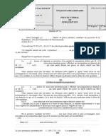 14 ENQUETE PRELIMINAIRE - P.V DE PERQUISITION
