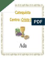 gaffete catequista