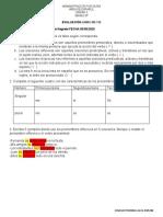 EVALUACION OCTAVO GUIAS 105-112