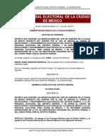 Ley Procesal Electoral de la CDMX
