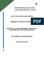 MONITOREO DE ESTRUCTURAS-KARLA DANIELA