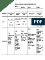 CRONOGRAMA DE ACTIVIDADES - DÍA DEL NIÑO