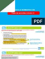 Conoce la Normativa del Plan Acción COVID-19