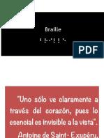 Taller de braille para educadoras. Ixtlan Oax.