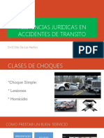 ASISTENCIAS JURIDICAS EN ACCIDENTES DE TRANSITO