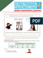 Los-Adjetivos-Demostrativos-y-Posesivos-Para-Cuarto-Grado-de-Primaria