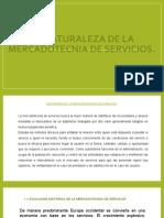 LA NATURALEZA DE LA MERCADOTECNIA DE SERVICIOS
