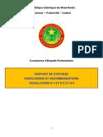 Rapport Final Conclusions et Recommandations Fr