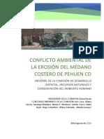 Informe Medano Pehuen Co