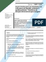 NBR 13352 - Lencol e fronha para uso domestico em tecido pla