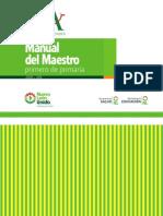 Manual del Maestro - Primero de Primaria