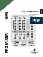 112031 MIXER BEHRINGER VMX300