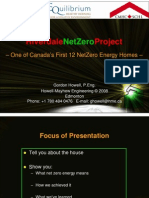 Riverdale Net Zero Project - Zero Energy Homes