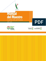 Manual del Maestro - Cuarto de Primaria